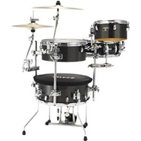 Tama Tama Cocktail-JAM Kit, Midnight Sparkle. Single pedal,<br />single tom attachments (x 2),<br />bass drum mute, drum bag,<br />hardware bag