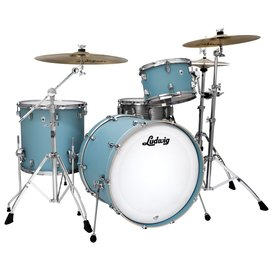 Ludwig Ludwig Ludwig Neusonic Series, 3 piece Drum Kit in Skyline Blue(13, 16, 22)