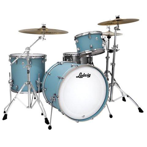 Ludwig Ludwig Neusonic Series, 3 piece Drum Kit in Skyline Blue(13, 16, 22)