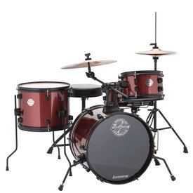 Ludwig Ludwig Pocket Kit by Questlove in Red Wine Sparkle