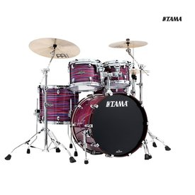 Tama TAMA Starclassic Walnut/Birch 4-piece shell pack - Lacquer Phantasm Oyster