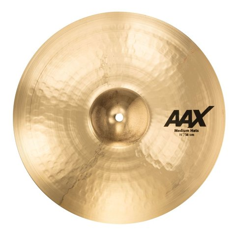 "Sabian 15"" AAX MEDIUM HAT TOP BR."
