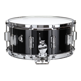 "Rogers ROGERS Dyna-Sonic 6.5"" x 14"" Classic Snare Drum Black Gloss Lacquer w/BT Lug"