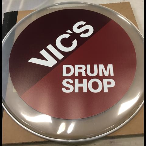 Vics Drum Head Printing