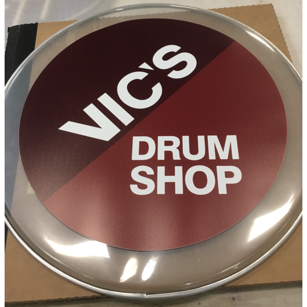 Vic's Drum Shop Vics Drum Head Printing