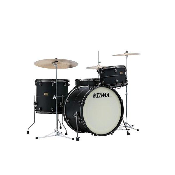 """Tama TAMA S.L.P. Drum Kits """"Big Black Steel"""" 3-piece shell pack"""