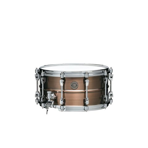"""TAMA Starphonic snare drum 7""""x14"""" 1.2mm Copper shell Satin Hairline Finish"""