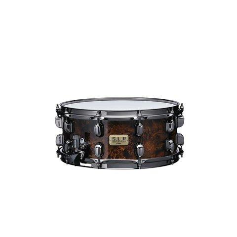 """TAMA S.L.P. snare drum """"G-Maple"""" 6""""x14"""" Maple snare drum Kona Mappa Burl"""