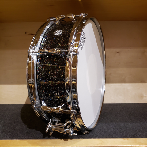 INDe RESoArmor Maple Snare Drums 5x14 Black Galaxy