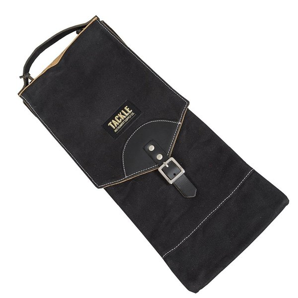Tackle Tackle Waxed Canvas Compact Stick Case Black