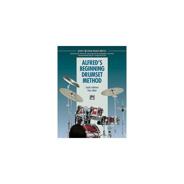 Alfred Publishing Alfred's Beginning Drumset Method by Sandy Feldstein and Dave Black; Book & CD