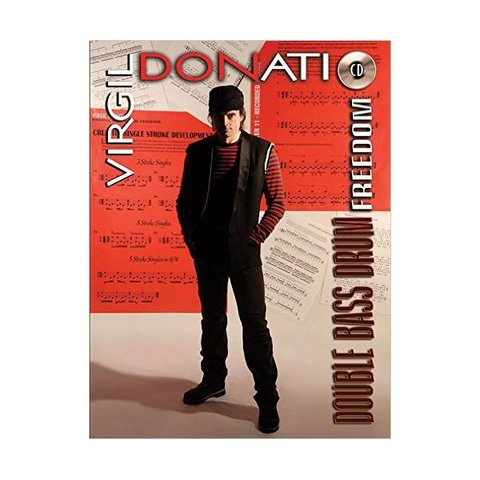 Double Bass Drum Freedom by Virgil Donati; Book & CD