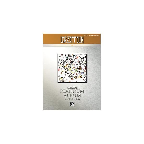 Alfred Publishing Alfred's Platinum Album Editions: Led Zeppelin III; Book
