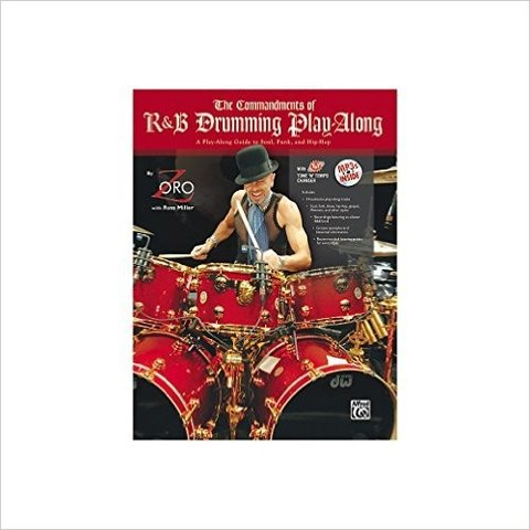 The Commandments of R&B Drumming Play-Along by Zoro; Book & CD