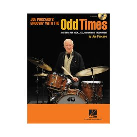 Hal Leonard Groovin With The Odd Times by Joe Porcaro; Book & CD