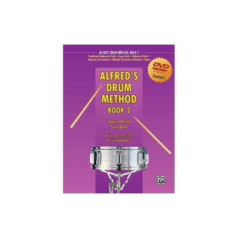 Dave Black and Sandy Feldstein: Alfred's Drum Method Book 2 DVD