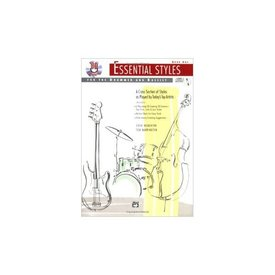 Alfred Publishing Essential Styles For the Drummer and Bassist Book 1 by Steve Houghton and Tom Warrington; Book & CD