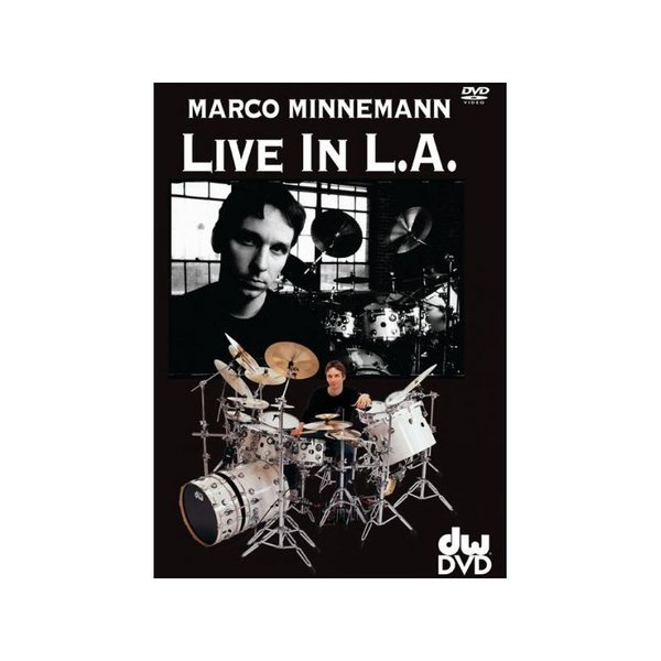 Alfred Publishing Marco Minnemann: Live in L.A. DVD