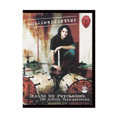 Aquiles Priester: Inside My PsychoBook; Book & CD