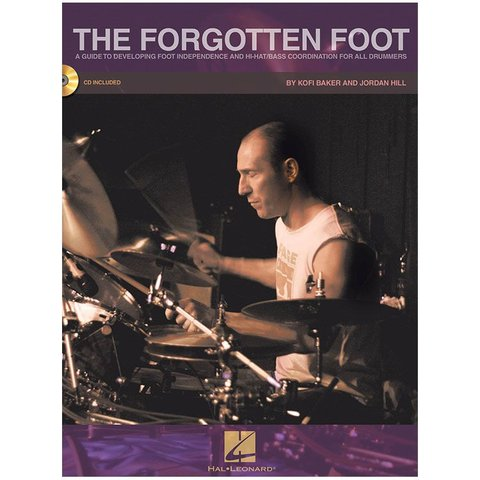 The Forgotten Foot by Jordan Hill and Kofi Baker; Book & CD
