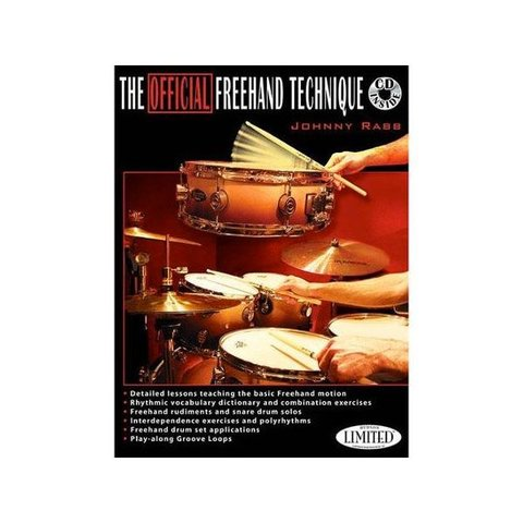 The Official Freehand Technique by Johnny Rabb; Book & CD