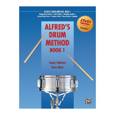 Dave Black and Sandy Feldstein: Alfred's Drum Method Book 1 DVD