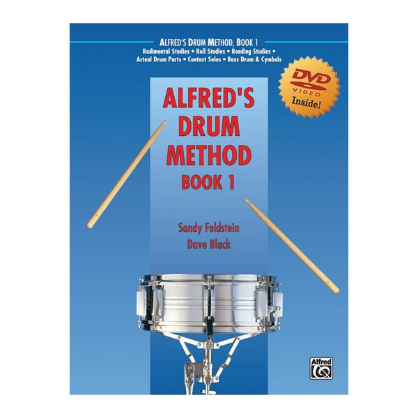 Alfred Publishing Dave Black and Sandy Feldstein: Alfred's Drum Method Book 1 DVD