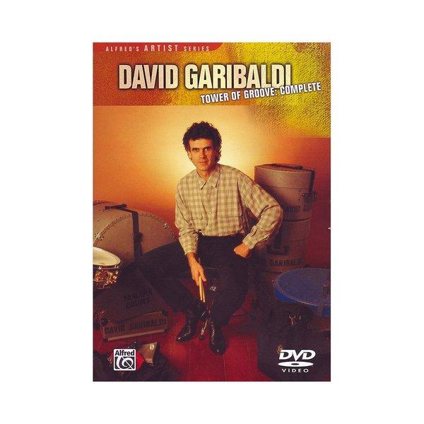 Alfred Publishing David Garibaldi: Tower of Groove Complete DVD