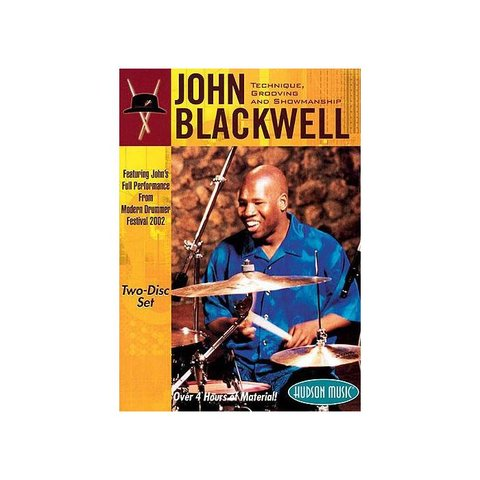 John Blackwell: Technique, Grooving and Showmanship DVD Set