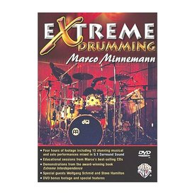 Alfred Publishing Marco Minnemann: Extreme Drumming DVD