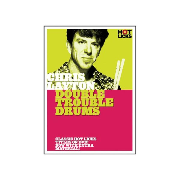 Hal Leonard Chris Layton: Double Trouble Drums DVD