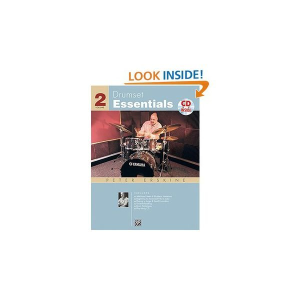 Alfred Publishing Drumset Essentials Vol. 2 by Peter Erskine; Book & CD