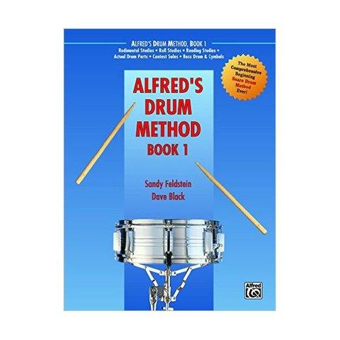 Alfred's Drum Method Book 1 By Sandy Feldstein and Dave Black; Book