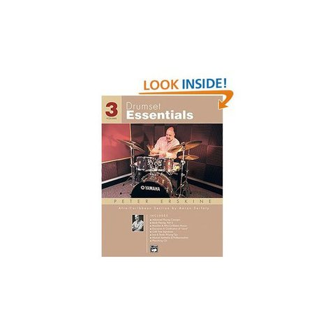 Drumset Essentials Vol. 3 by Peter Erskine; Book & CD