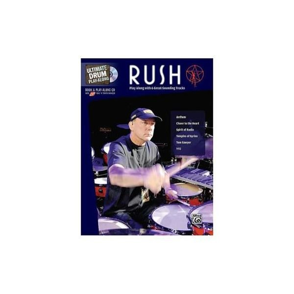 Alfred Publishing Ultimate Drum Play-Along: Rush; Book and CD