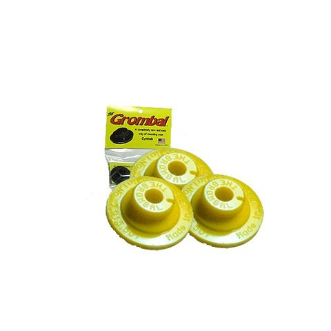 Grombal Cymbal Grommet 3 Pack; Yellow