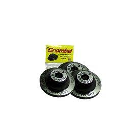 Grombal Grombal Cymbal Grommet 3 Pack; Black