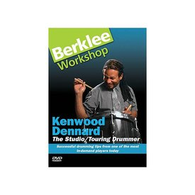 Hal Leonard Kenwood Dennard: The Studio/Touring Drummer DVD