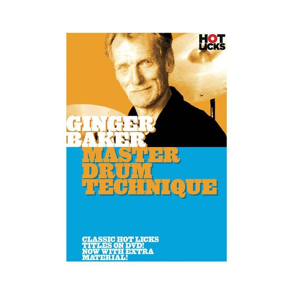 Hal Leonard Ginger Baker: Master Drum Technique DVD