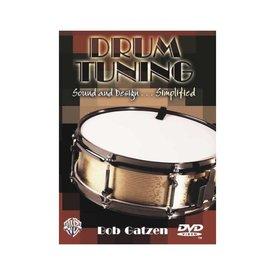 Alfred Publishing Bob Gatzen: Drum Tuning: Sound and Design Simplified DVD