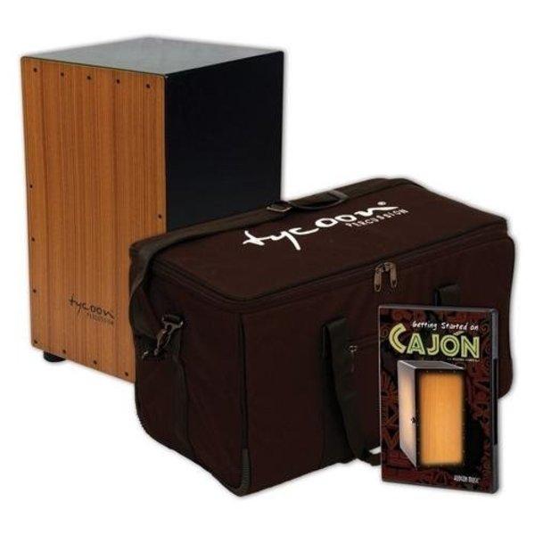 Hal Leonard Tycoon Cajon Pack: Includes Supremo Cajon, Gig Bag and Hudson_Ñés Getting Started On Cajon DVD