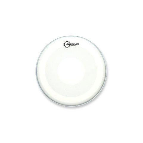 "Aquarian Studio-X Series Texture Coated 16"" Drumhead with Power Dot Underside"