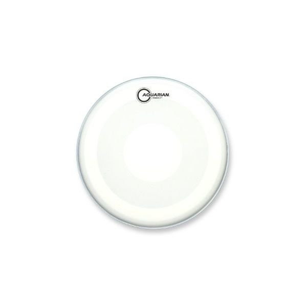 "Aquarian Aquarian Studio-X Series Texture Coated 16"" Drumhead with Power Dot Underside"