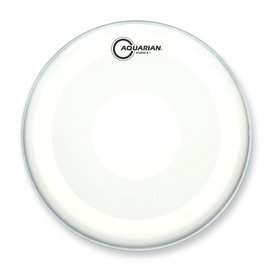 "Aquarian Aquarian Studio-X Series Texture Coated 8"" Drumhead with Power Dot Underside"