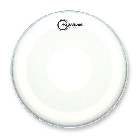 "Aquarian Studio-X Series Texture Coated 8"" Drumhead with Power Dot Underside"