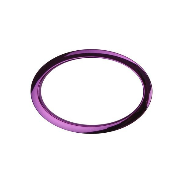 """Bass Drum O's Bass Drum O's 6"""" Purple Oval"""