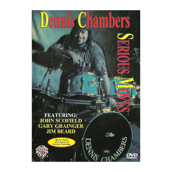Alfred Publishing Dennis Chambers: Serious Moves DVD