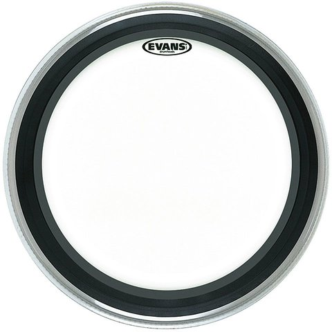 """Evans EMAD Clear 24"""" Bass Drumhead"""