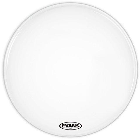 """Evans 22"""" MX2 MARCH BASS WHT"""