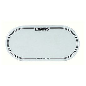 Evans Evans Clear Polyester Bass Drum Patch Double Pedal (2 Pack)